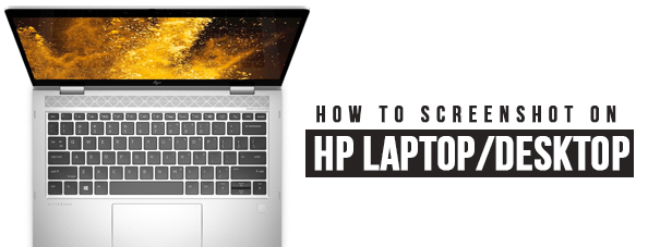 How To Screenshot On HP Laptop
